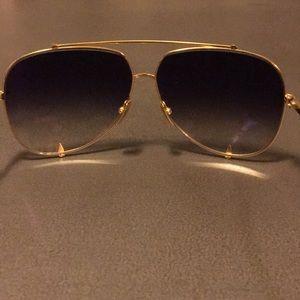 b7975d260c DITA Accessories - NWOT 18K gold  Black 💯 DITA TALON sunglasses